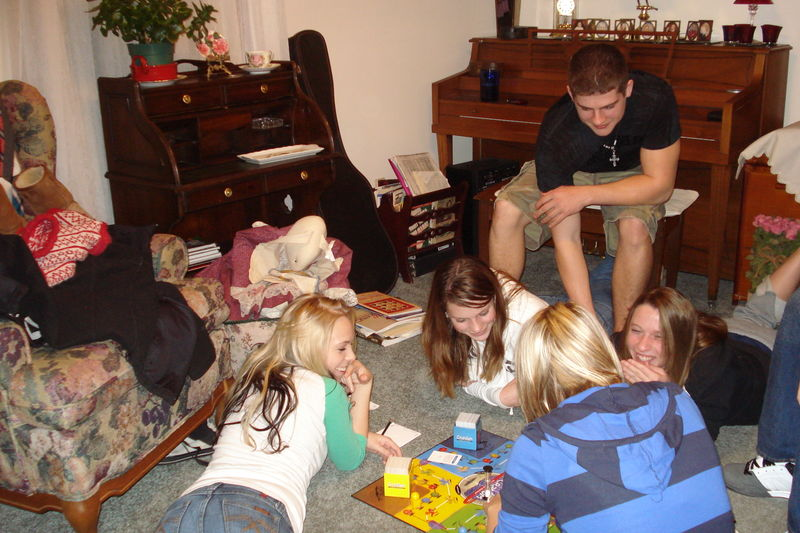 Grankids playing games